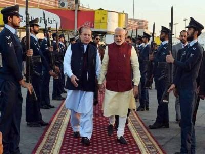 Nawaz Sharif and Modi