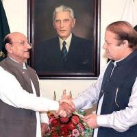 Nawaz Sharif and Qaim Ali Shah