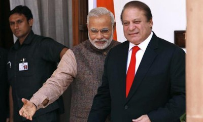 PM Nawaz And Modi Meeting