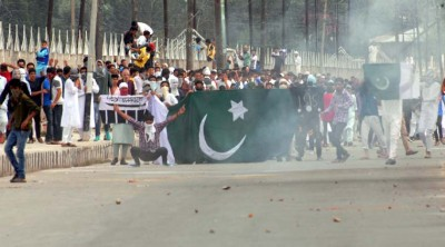 Pakistan Flag Srinagar