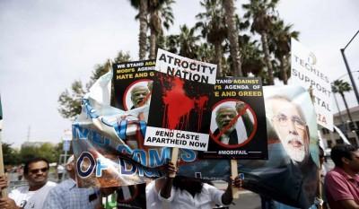 Protests against Modi