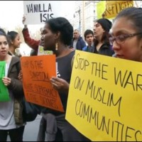 Muslims Criticism Agaisnt Rally