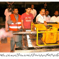 Shah Faisal Zone Dengue Spray Campaign