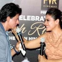 Shah Rukh and Kajol