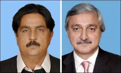 Siddique Baloch and Jahangir Tareen