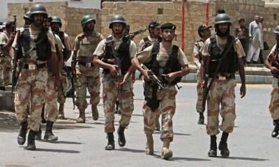 Sindh Rangers Options