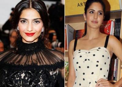 Sonam Kapoor and Katrina