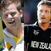 Steven Smith and Martin Guptill