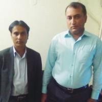Talib Hussain and Tabassum