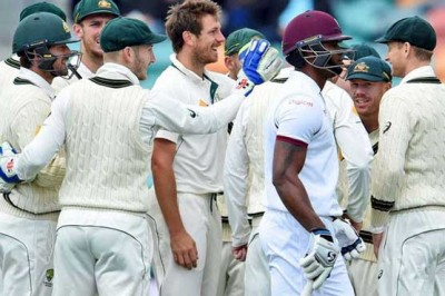 West Indies, Australia Test Match