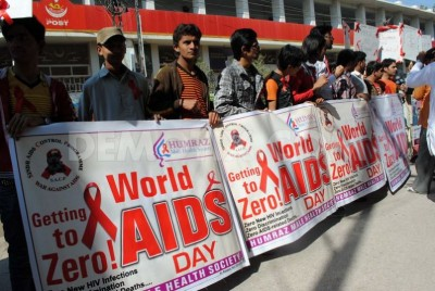 World AIDS Day in Pakistan