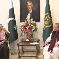 Adel Bin Ahmed al-Jubeir and Nawaz Sharif