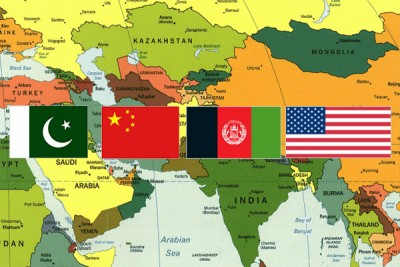 Afghanistan, Pakistan, China and the United States Meeting