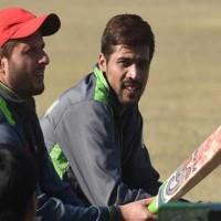 Amir and Shahid Afridi