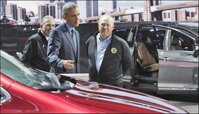 Barak Obama In Carshow