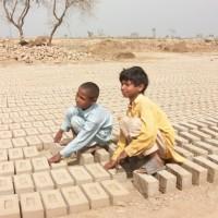 Children Brick Kilns