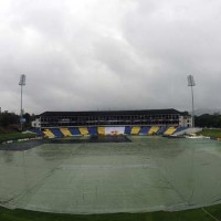 Cricket Stadium Rain