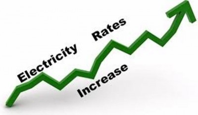 Electricity Rates Increase