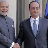 Francois Hollande and Modi