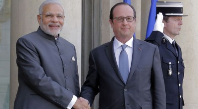 Francois Hollande and Modi