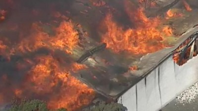 Furniture Factory Fire