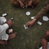 Gambling Arrested