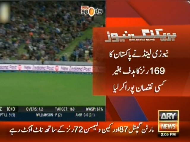Hamilton T20 Match– Breaking News – Geo