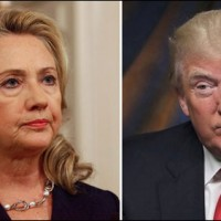 Hillary Clinton and Donald Trump
