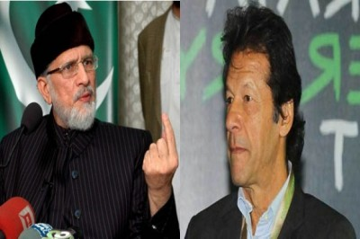 Imran Khan Dr Tahir ul Qadri
