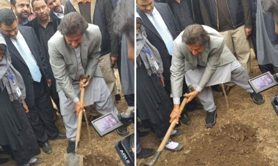 Imran Khan-Planting Tree
