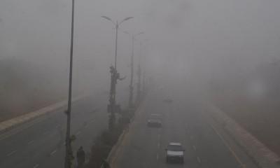 Islamabad Fog
