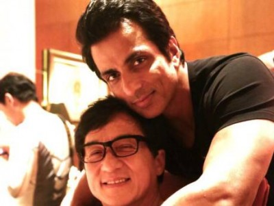 Jackie Chan and Sonu Sood