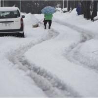 Japan Snowfall