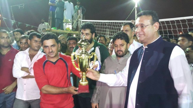 Jeddah Benazir Bhutto Shaheed Volleyball Tournament