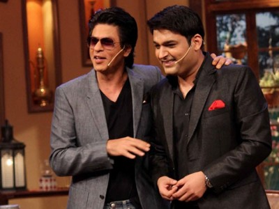 Kapil Sharma and Shahrukh Khan
