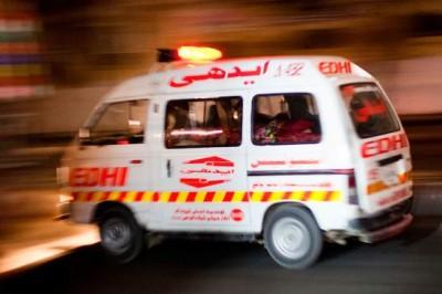 Karachi Nazimabad  Accident