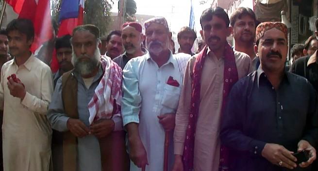 Khairpur Nathan Shah Protest
