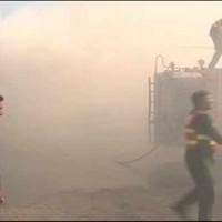 Lahore Fire Undercontrol Pakistan