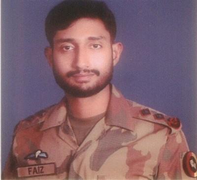 Lt Faiz Sultan Malik Shaheed