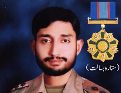 Lt Faiz Sultan Malik Shaheed ,Sitara-e-Basalat