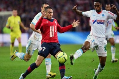 Marseille vs Lille, Football Match