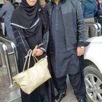 Megha and Hamza Yousuf