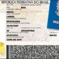 Messi Passport