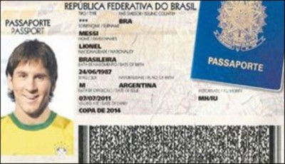 Messi Passport