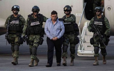 Mexico Leader, Arrested