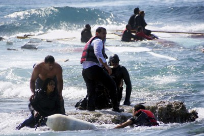 Migrants are Rescued