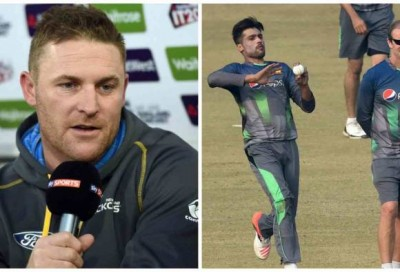 Mohammad Amir finds support from Brendon McCullum