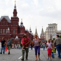 Moscow Tourists
