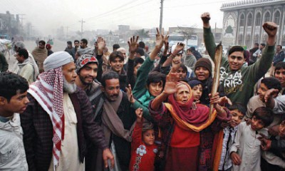 Multan Gas Protest