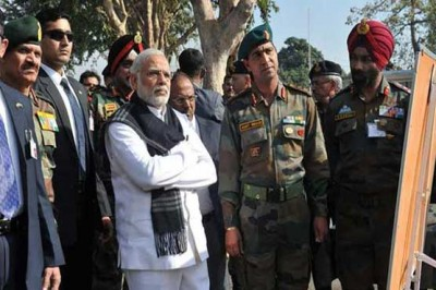 Narendra Modi,Pathankot Visit